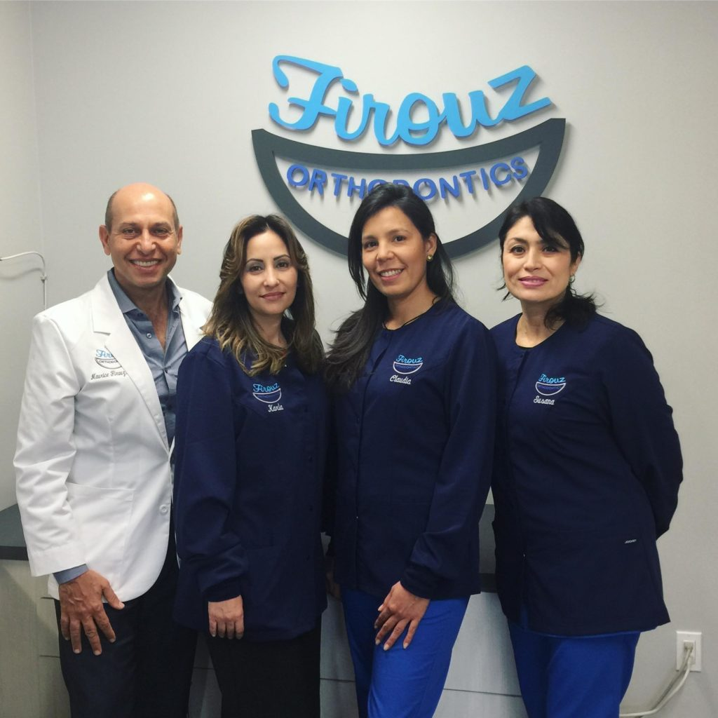 Brentwood Orthodontist, Maurice Firouz and Staff
